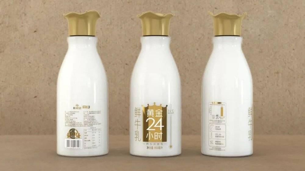 新希望黄金二十四小时鲜奶,图片来源:Marking Awards