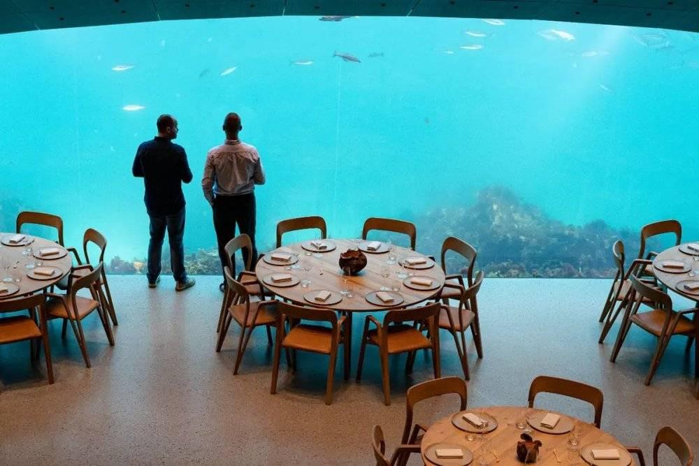△挪威水下餐厅UNDER/unsplash