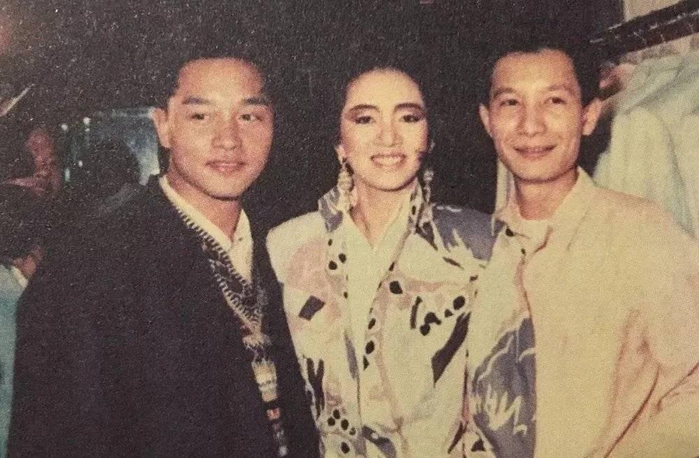 张国荣、梅艳芳与刘培基<br>