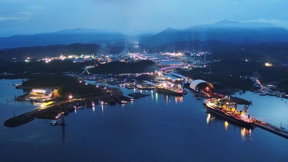 青山的苏拉威西工业园,2020年<br>